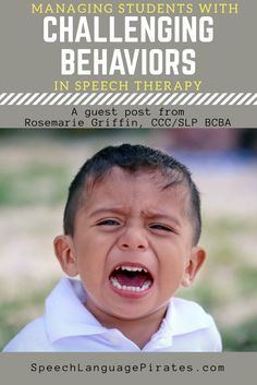 managing challenging behaviors in speech therapy