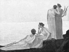 Many Pythagorean women mathematicians (and philosophers in general) are mentioned by Iamblichos or Suda. Some women were students of Plato, others were daughters of philosophers. None of their books survived Ancient Greek Clothing, Western Philosophy, Great Women, Women In History, Ancient Greece, Decir No, Books, Painting, Mathematicians