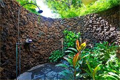 would love to live somewhere tropical enough to have an outdoor shower