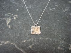 Items similar to Silver Square Pendant on Etsy Necklaces, Pendant, Silver, Etsy, Jewelry, Jewlery, Money, Jewels, Trailers