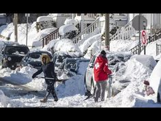 'Whiteout' Conditions in Many Mid-Atlantic and  New England States: 'BOM...