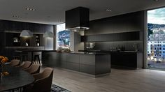This was a set of interior shots we developed and produced for Le Bijou. They offer very high quality downtown apartments that are transformed into high end fully automated hotels. This is the superior suite apartment in Zurich. Please check take a l… Kitchen And Kitchenette, Kitchenette Design, Luxury Interior Design, Interior Design Inspiration, Interior Architecture, Design Ideas, Kitchen Room Design, Interior Design Kitchen, Kitchen Ideas