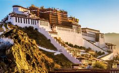 POTALA PALACE LHASA, TIBET, CHINA The vast hilltop Potala Palace was once the winter palace and seat of the Dalai Lama. Today the 13-story former fortress—the greatest monumental structure in Tibet—is open as a museum as it undergoes restoration by the Chinese government.