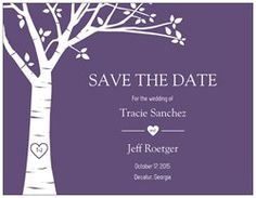 Save the Date Cards - 5.5 x 4 at vistaprint