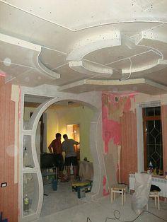 Потолок гипсокартон