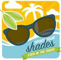 40% of UV radiation comes from indirect sunlight...so wear your sunglasses even in the shade
