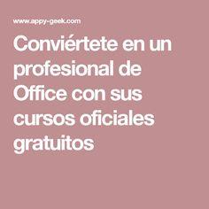 Conviértete en un profesional de Office con sus cursos oficiales gratuitos