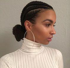 Big Box Braids Hairstyles, Black Girl Braided Hairstyles, Afro Hairstyles, Pretty Hairstyles, Braids For Black Hair, Big Hair, Curly Hair Styles, Natural Hair Styles, Twist Braids