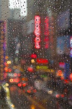 Rainy Broadway by Carlos Ramos