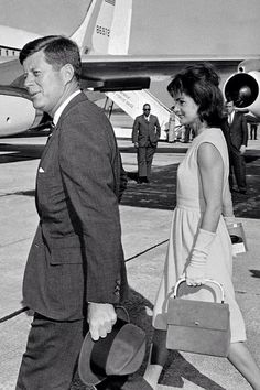 President John F. Kennedy and First Lady Jacqueline Kennedy