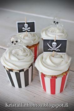 8 v merirosvosynttärit / 8 years pirate birthday