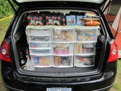 A camping pantry. Everything is easy to access and Then close the hatch at night to keep the critters out of the food. Such a great idea. A camping pantry. Ev A camping pantry. Ev A camping pantry. Ev A camping pantry. Ev A camping pantry. Auto Camping, Trailers Camping, Camping Info, Camping Glamping, Camping Survival, Camping And Hiking, Camping With Kids, Family Camping, Outdoor Camping