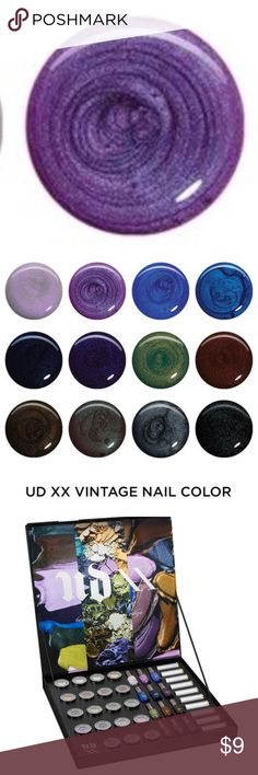 Urban Decay Asphyxia Nail Polish New!!!  Urban Decay Full Sized Asphyxia Nail Polish  Part of the 20 Years of Beauty with and Edge Vintage Collection Urban Decay Makeup