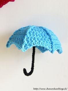 Ihan oikea blogi?: VIRKATUT SATEENVARJOT SIS. OHJE Crochet Stars, Crochet Flowers, Crochet Dolls, Knit Crochet, Knitting Patterns, Crochet Patterns, Crochet Decoration, Easy Stitch, Amigurumi Doll
