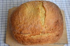 Paine-cu-cartofi Ciabatta, Baguette, My Recipes, Bread Recipes, Pastry And Bakery, Food And Drink, Breads, Diy, Crafts