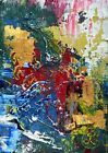♡♮ Yet #Undiscovered. Mixed Media Abstract #Painting Contemporary Art France 2000-Now http://ebay.to/2gzJ43x