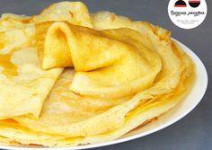 Breakfast Pancakes, Breakfast Recipes, Snack Recipes, Snacks, Dessert Cake Recipes, Relleno, Crepes, Recipies, Deserts