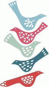 Silhouette Design Store - View Design set of birds Bird Silhouette, Silhouette Design, Silhouette Studio, Lino Art, Bird Design, Design Design, Cut Out Art, Bird Stencil, Paper Art