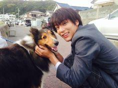 """the final ep tonight!!!"" Taishi Nakagawa, Feb/01/16 J drama series ""Minami-kun no koibito, My little lover"""