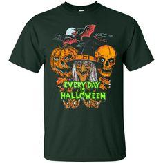 Halloween T shirts Everyday Is Halloween Hoodies Sweatshirts