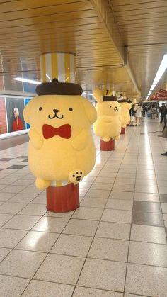 新宿駅に飾られてたポムポムプリンwwwww : VIPPER速報
