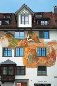St. Gallen, Switzerland.