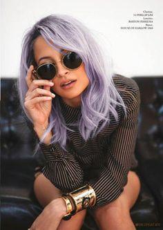 Purple Hair http://www.jexshop.com/Hair-Extensions-Wigs
