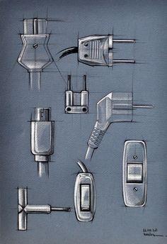 I.D. Sketching & Marker Rendering on Behance #id #industrial #design #product #sketch
