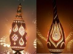 Gourd Lamps