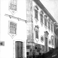 Casa do 1º Correio Mor de Viseu.