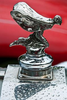 Art Deco Vaseline Glass Spirit Of Ecstasy Rolls Royce Car Mascot Modern Design Art Deco