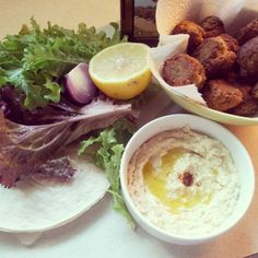 NATURE WHISPER: Easy And Quick Falafel Recipe + Tahini Sauce