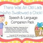 There Was an Old Lady Who Swallowed Chick: Speech and Language  Activities.     This 38 page activity pack is perfect for speech or language. The act...