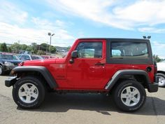 2014 Jeep Wrangler Sport 4x4 Sport 2dr SUV SUV 2 Doors Red for sale in Wallingford, CT Source: http://www.usedcarsgroup.com/used-jeep-for-sale-in-wallingford-ct