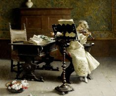 ♪ The Musical Arts ♪ music musician paintings - Paolo Giovani Bedini   The Violinist