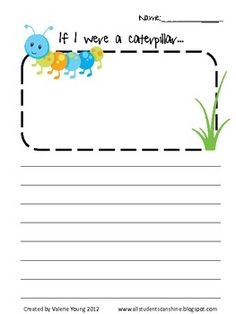 Here are some writing prompts for your Insects Theme!These are a part of my Insects Unit!...