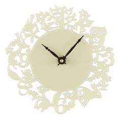 The Land of Nod | Fancy Forest Wall Clock in Clocks