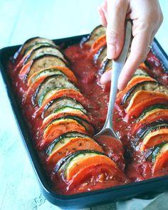 Recept: Groenten ratatouille met zoete aardappel | Jaimy's Kitchen