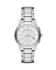 Burberry The City Check Dial Watch, 38mm | Bloomingdale's