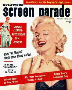 Marilyn Monroe - Hollywood Screen Parade, Mar.