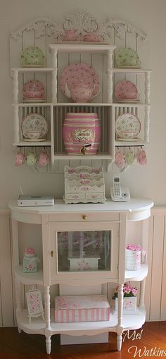 Sweet shabby chic #shabbychichomeaccessories