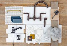 Napa Double Height | Barn & Vine Bridgehampton -- tile, backsplash, faucet, knobs, pulls, marble