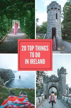 Cheap things to do on a trip through Ireland