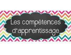 FRENCH LEARNING SKILLS POSTERS & SUCCESS... by La salle de Monsieur | Teachers Pay Teachers Success Criteria, Skills To Learn, Learn French, Assessment, Posters, Learning, Cards, Room, Learn To Speak French