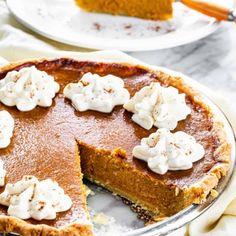 Creamed Spinach - Jo Cooks Pumpkin Recipes, Pie Recipes, Dessert Recipes, Pumpkin Pumpkin, Yummy Recipes, Chicken Recipes, Cheesy Chicken Enchiladas, Jo Cooks, Deserts