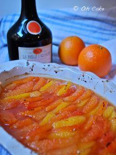Oh Cake: Citruslove Bloghop - Broiled Maple Orange & Grapefruit Supreme