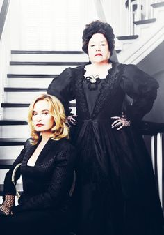 American Horror Story Coven. FAVORITE SHOW EVER!!! 2 of the Best Actresses