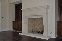 Add luxury to your place with our hand carved cast stone fireplace, surrounds, limestone mantels, and more. Shop from our collection at Southern Stone Crafters
