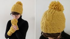 Pom Pom hat love the color too