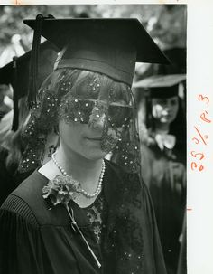 Bard through the years: Jina Caruso, May 29, 1983. Bard College graduation.